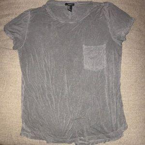 Grey oversized t-shirt